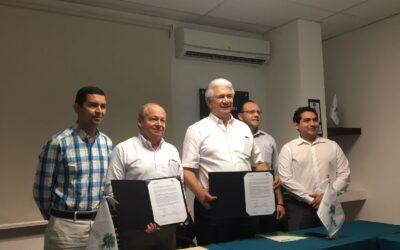Firma del Convenio de Colaboración con la Universidad Tecnológica Metropolitana (UTM)